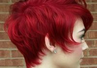 Elegant 20 chic short hairstyles for women 2021 pretty designs Red Short Hair Styles Choices