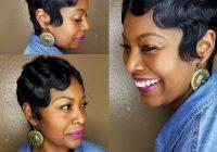 Elegant 27 hottest short hairstyles for black women for 2020 Latest African American Short Hairstyles Ideas
