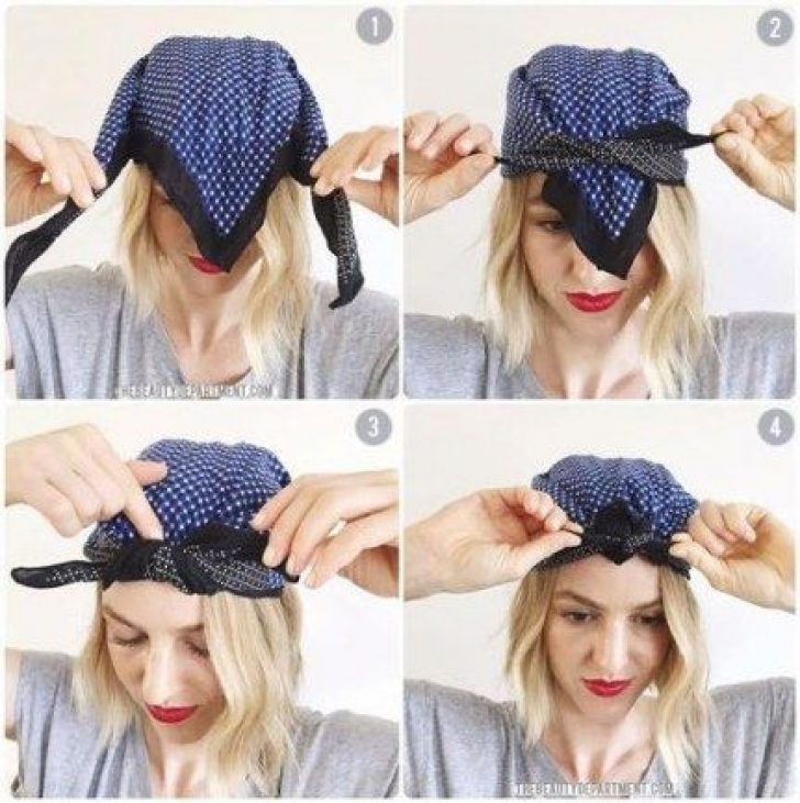 Permalink to Perfect Bandana Styles For Short Hair Gallery