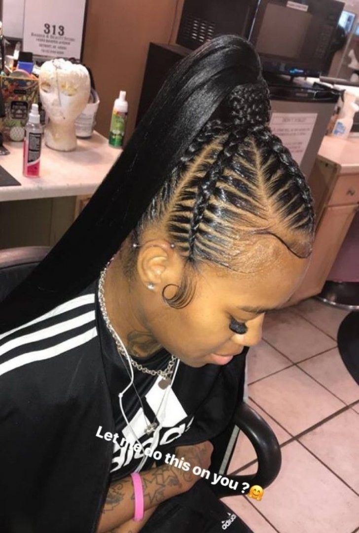 Permalink to 10 Beautiful Braided Hair Ponytail Styles Gallery