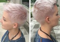 Elegant pin on hair Very Short Haircut Inspirations