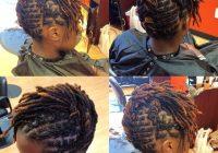 Elegant short locs style of the week short locs hairstyles hair Hair Styles For Short Locs Choices