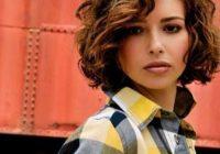 Elegant top 20 flawless short curly hairstyles for round faces Short Haircuts For Round Faces And Curly Hair Ideas