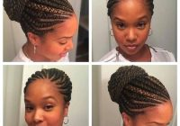 Elegant unique braided straight up hairstyles natural hair styles Braids Straight Up Hairstyles Inspirations