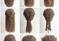fashionable braid hairstyle for shoulder length hair long Easy Braided Updos For Shoulder Length Hair Ideas