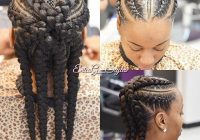 follow me for more najah and i will follow you back African Hair Style Back Cornrow For Natural