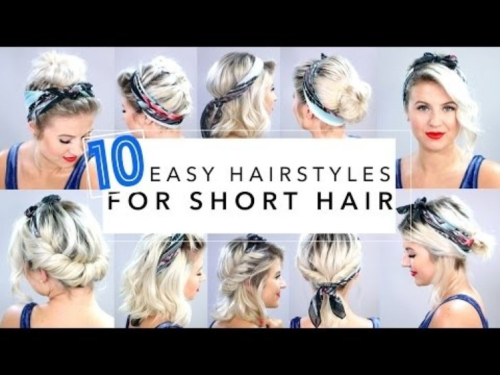 Permalink to 11 Fresh Headband Styles For Short Hair Ideas