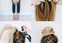 Fresh 14 ridiculously easy 5 minute braided hairstyles hair Easy Braided Updos For Shoulder Length Hair Choices