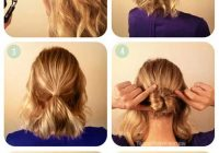 Fresh 20 incredible diy short hairstyles a step step guide Easy Updo Hairstyles For Short Length Hair Choices