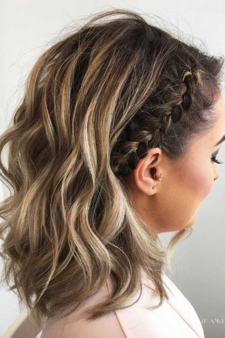 Permalink to 9   Pretty Braided Hairstyles For Short Hair Gallery
