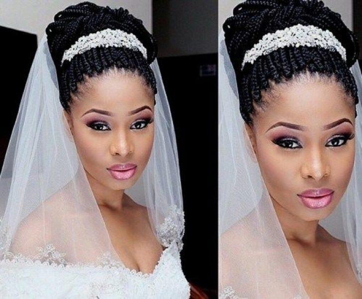 Permalink to Fresh African Wedding Hairstyles Braids