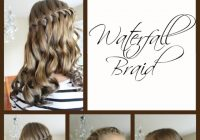 Fresh back to school hairstyles waterfall braid Back To School Hairstyles For Medium Short Hair Choices