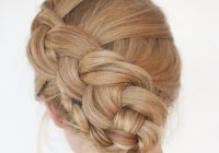 Fresh new braid hairstyle tutorial the twist braid updo hair Braid Updo Hairstyles Tutorial Inspirations