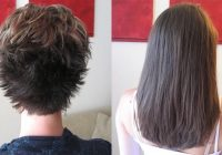 hair extensions short hair before and after hair Short Hair With Extensions Styles Choices