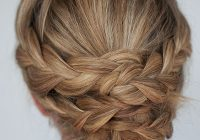 hairstyle how to easy braided updo tutorial hair romance Easy Braided Updos For Shoulder Length Hair Choices