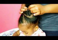 kids big cornrows hairstylekids natural hairstyle youtube Cornrows Hairstylesfor Kids