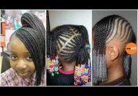 lil girl braiding hairstyles little black girl natural hair styles African American Little Girl Braid Hairstyles