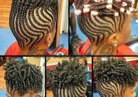 loving this short natural hair styles natural hair African Hair Style Back Cornrow For Natural