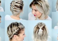 shoulder length hair braiding 15 easy to use instructions Simple Braided Hairstyles For Medium Length Hair Inspirations