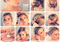 Stylish 10 fabulous hair tutorials for short hair Easy Hairstyles For Short Hair Tutorials Inspirations