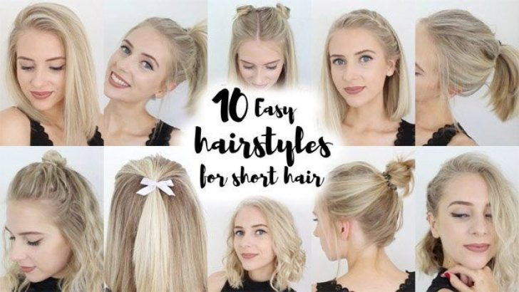 Permalink to Fresh Back To School Hairstyles For Short Hair Easy