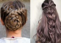 Stylish 12 quick and easy braided hairstyles 2021 braids inspiration Simple Hair Braids Styles Ideas