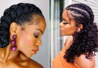 Stylish 21 easy ways to wear natural hair braids stayglam Braids For Black Natural Hair Inspirations