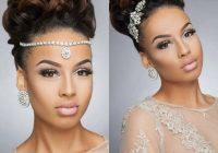 Stylish 43 black wedding hairstyles for black women hairstyles African American Bridal Hairstyles Designs