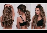 Stylish 5 quick and easy hairstyles with extensions Short Hair With Extensions Styles Ideas