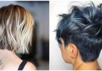 Stylish 50 quick and fresh short hairstyles for fine hair in 2020 Hair Color For Short Styles Choices