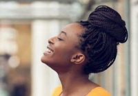 Stylish 56 best natural hairstyles and haircuts for black women in 2020 African American Updo Hairstyles Designs