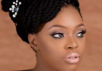 Stylish 6 traditional white wedding beauty looks for the bold African Wedding Hairstyles Braids Inspirations