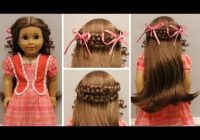 Stylish how to do marie graces meet hairstyle Hairstyles For American Girl Dolls Grace Designs