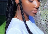 Stylish lace front black wig purple lace front wig lace hair 100 African Natural Hair Braiding Styles Ideas