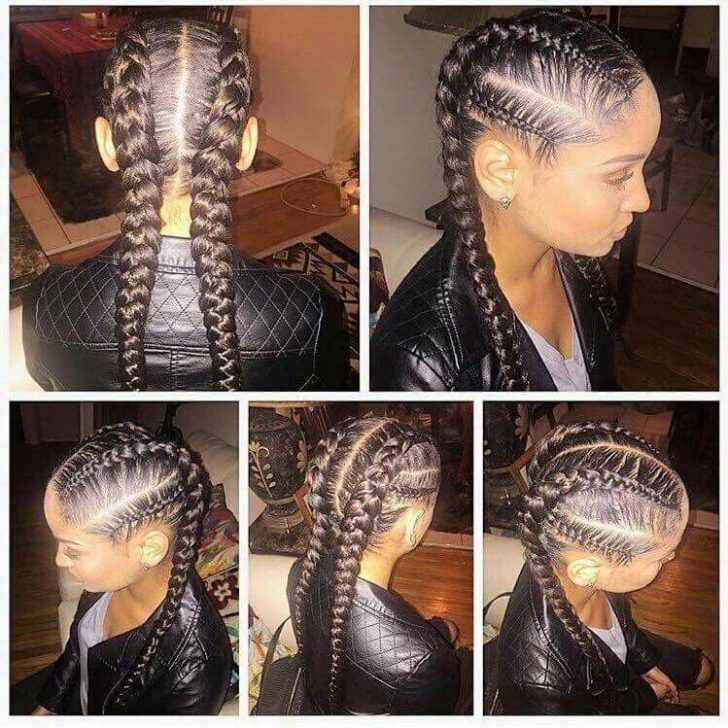 Permalink to 10 Modern African American French Braid Styles Pictures Inspirations