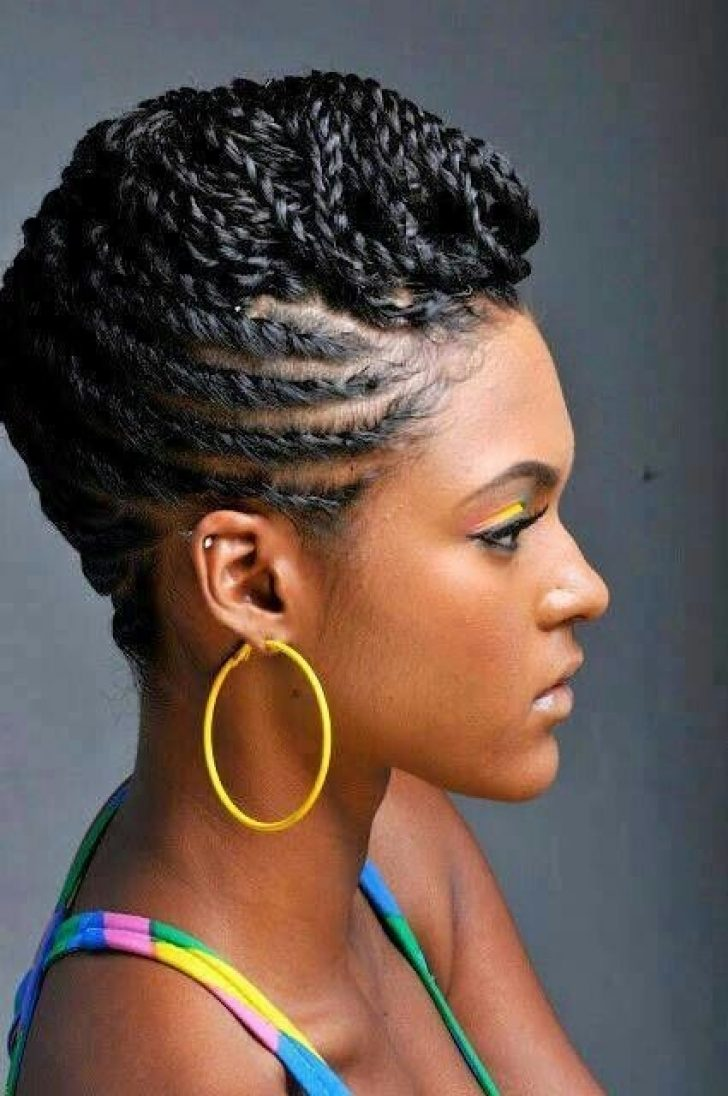 Permalink to 9 Cozy African American Natural Braided Hairstyles