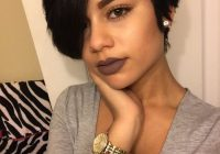 Stylish pin on hairspiration Cute Short Black Hairstyles Ideas