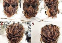 Stylish recogido sencillo simple prom hair hair styles short Short Hair Styles Updo Choices