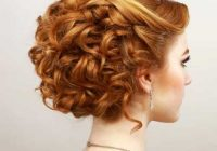 Stylish rock prom night with these 50 cool as you can get hairstyles Hairstyles For Short Curly Hair For Prom Choices