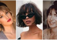 Stylish updated 45 cute short hair with bangs styles august 2020 Cute Hairstyle For Short Hair With Bangs Inspirations