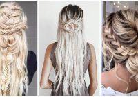 Stylish wedding braids for long hair Braid Hairstyles For Wedding Inspirations