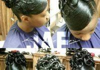 Trend 092714 black hair updo hairstyles natural hair styles Updo Hairstyles African American