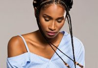 Trend 105 best braided hairstyles for black women to try in 2020 African American Hair Braids Cornrows Ideas
