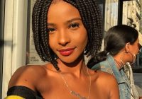 Trend 105 best braided hairstyles for black women to try in 2020 African Braid Styles For Short Hair Inspirations