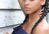 Trend 15 french braid hairstyles for black hair women French Braid African American Hairstyles