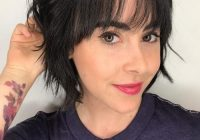 Trend 23 short hair with bangs hairstyle ideas photos included Hairstyle For Short Hair With Side Bangs Inspirations