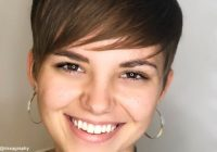 Trend 28 perfectly cut short hair for round face shapes ideas for Hairstyles For Round Faces And Thick Hair Short Ideas