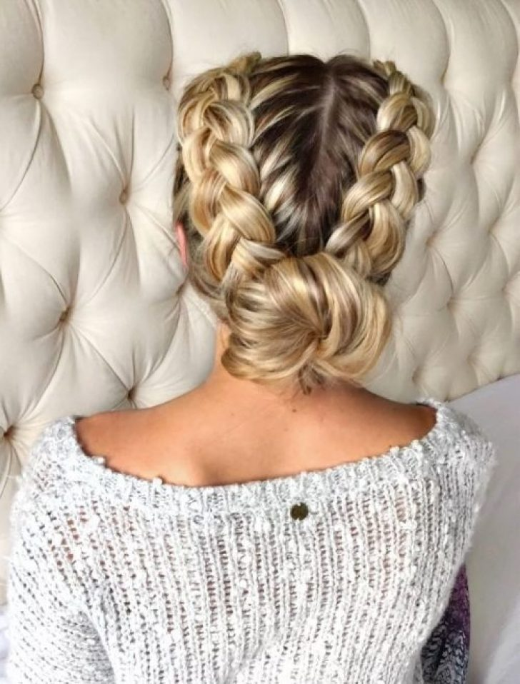 Permalink to 9 Awesome Dutch Braid Updo Long Hair