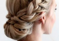 Trend 42 braided prom hair updos to finish your fab look braided Hair Up Braid Styles Inspirations
