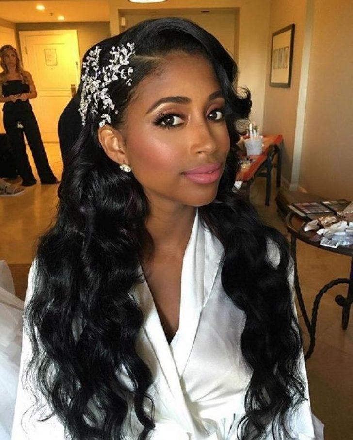 Permalink to 10 Elegant African American Bridal Hairstyles Gallery